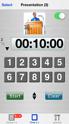 Easy Timers single timer